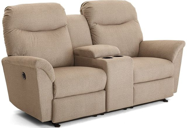Best Home Furnishings® Caitlin Rocker Console Loveseat-L420RC7
