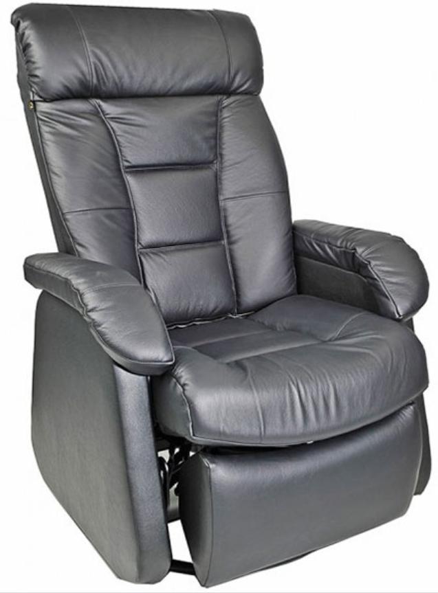 Fauteuil inclinable motorisé motorisé NEO en tissu gris PEL International®-314855