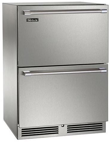Perlick® Signature Series 5.2 Cu. Ft. Refrigerator-Stainless Steel-HP24RS-3-5