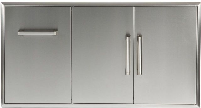 Coyote Outdoor Living Drawer And Double Access Doors-Stainless Steel-CCD-POD