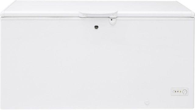 GE® 15.7 Cu. Ft. Chest Freezer-White-FCM16DLWW