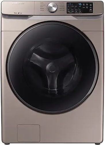 Samsung 4.5 Cu. Ft. Champagne Front Load Washer-WF45R6100AC