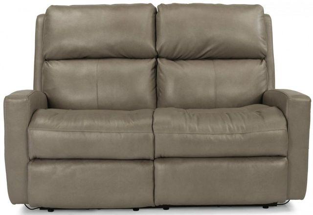 Flexsteel® Catalina Leather Reclining Loveseat-3900-60