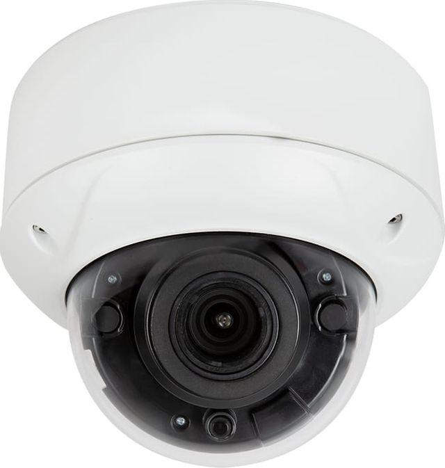 SnapAV Luma Surveillance™ 710 Series White Dome Analog Camera with Heater-LUM-710-DOM-AH-WH