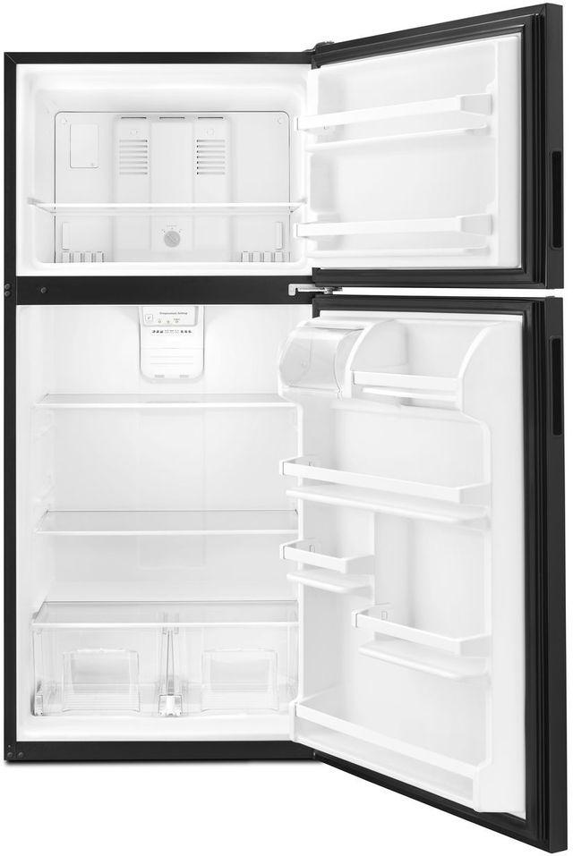 Amana® 18.15 Cu. Ft. Black Top Freezer Refrigerator-ART318FFDB