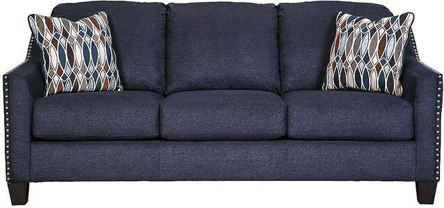 Canapé-lit Creeal Height en tissu bleu Benchcraft®-8020239