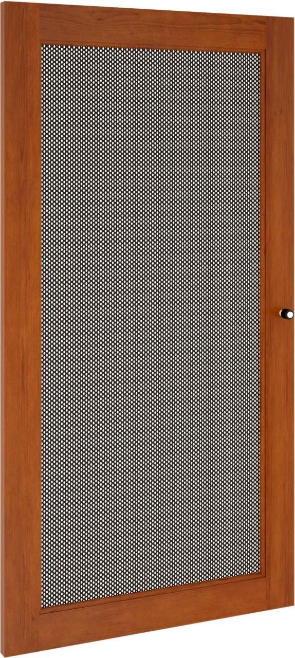 Salamander Designs® Synergy S40 Door-Cherry/Perforated Steel-SD40C/P