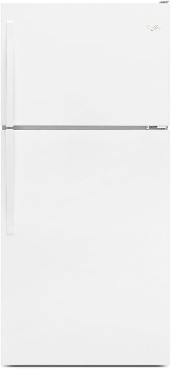 Whirlpool® 18.25 Cu. Ft. White Top Freezer Refrigerator-WRT148FZDW