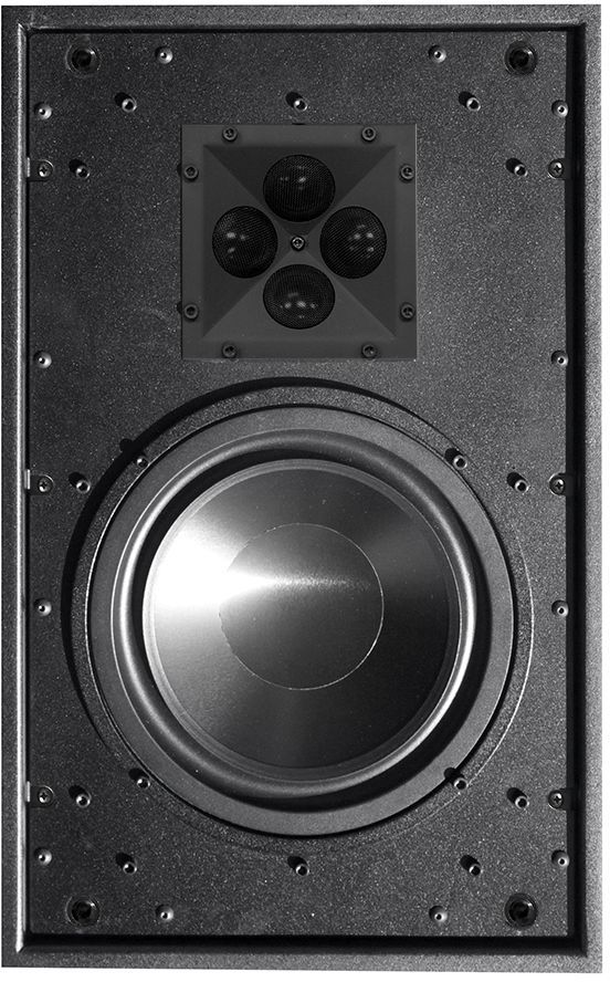 "James Loudspeaker® 8"" 2-Way Shallow Depth In-Wall Speaker-QX820"