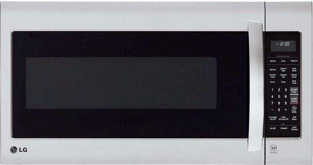 LG 2.0 Cu. Ft. PrintProof™ Stainless Steel Over The Range Microwave-LMV2031SS