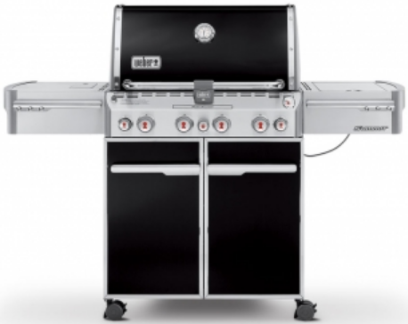 Weber® Summit® E-470™ Black Gas Grill-7171001