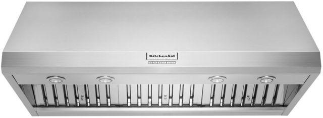 "KitchenAid® 48"" Stainless Steel Wall Hood-KVWC908KSS"