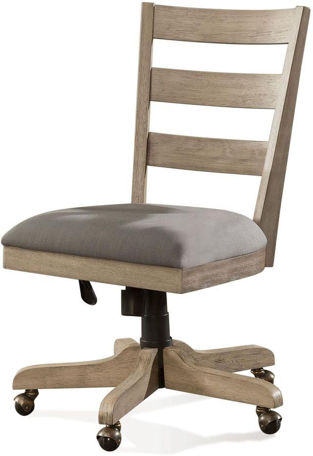 Riverside Furniture Wood Back Upholstered Desk Chair-28127