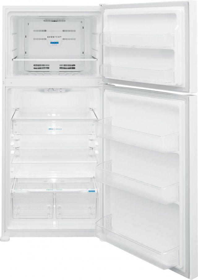 Frigidaire® 20.0 Cu. Ft. White Top Freezer Refrigerator-FFHT2045VW