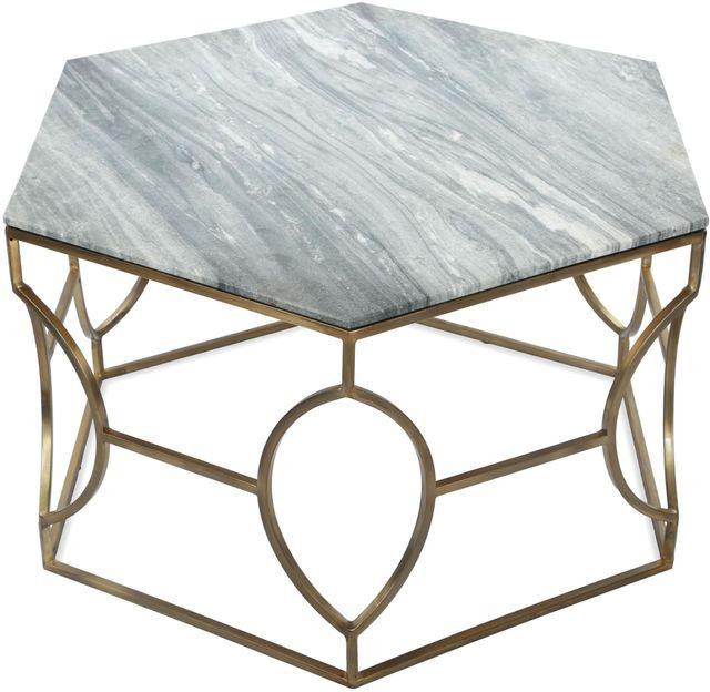 Riverside Furniture Barron Hexagon Coffee Table-26802