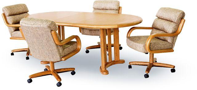 Chromcraft™ Dining Table-CD817M+CD77M
