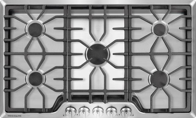 """Frigidaire Gallery® 36"""" Stainless Steel Gas Cooktop-FGGC3645QS"""