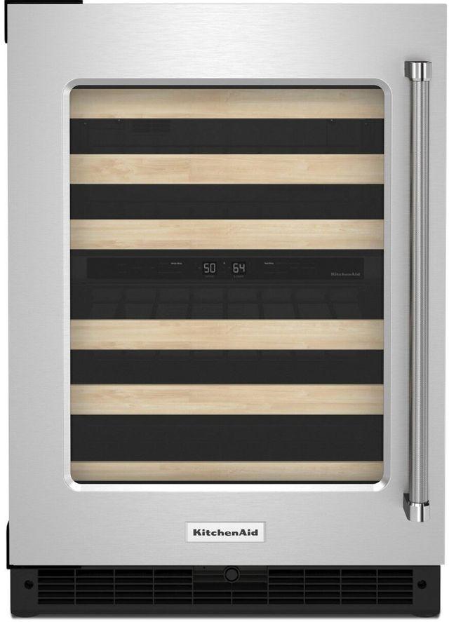"KitchenAid® 24"" Wine Cooler-KUWL214K"