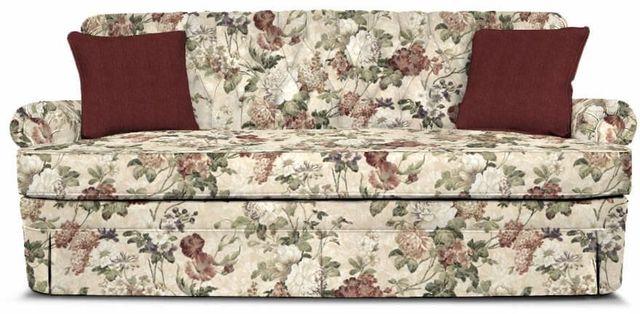 England Furniture Co. Fernwood Maxima Plum-Milos Raspberry Sofa-1155-2729+8647