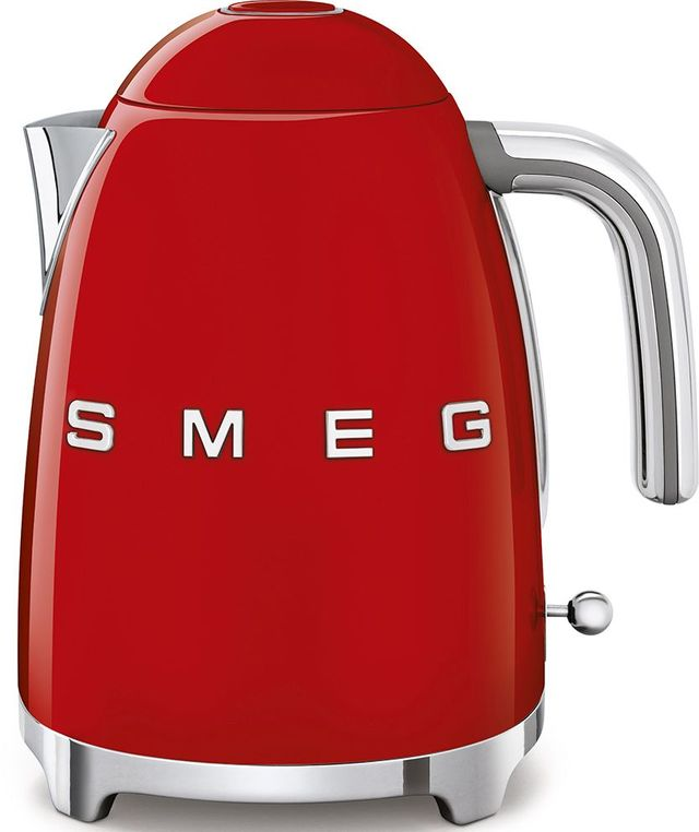 Smeg 50's Retro Style Aesthetic Red Electric Kettle-KLF03RDUS