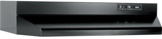 """Broan® 40000 Series 30"""" Black Under Cabinet Range Hood-403023"""