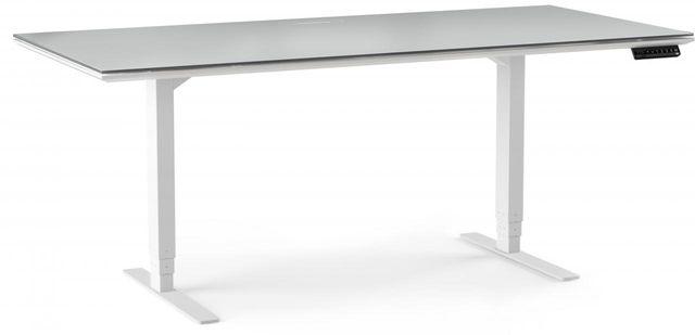 "BDI Centro™ 6452 Lift Standing Desk - 66"" x 30""-6452-WHITE"