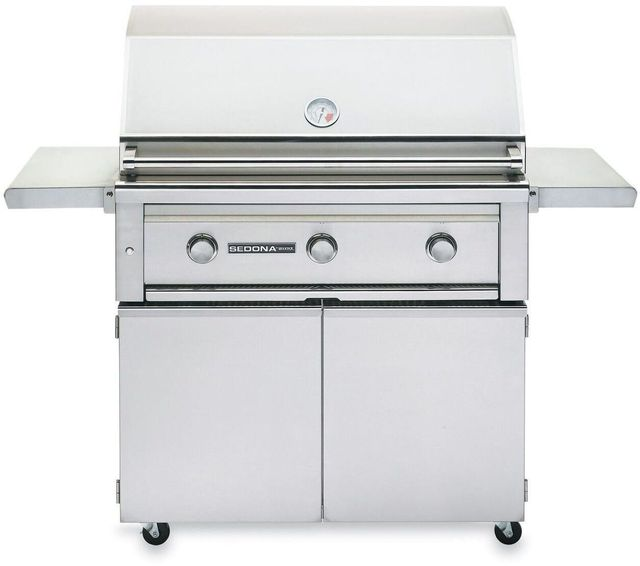 """Lynx® Sedona 36"""" Freestanding Grill-Stainless Steel-L600FNG"""