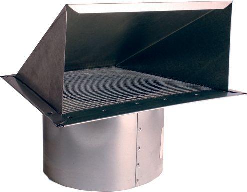 Couverture et extension de conduit de 10 po Zephyr® - Aspect acier inoxydable-AK00052