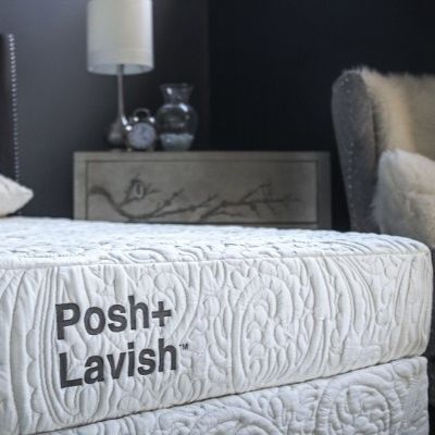 Posh+Lavish™ Restore Medium King Mattress-MATRST-66-010