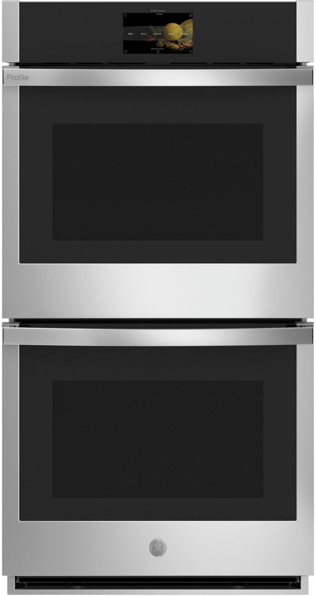 """GE Profile™ 26.75"""" Stainless Steel Electric Built-In Double Oven-PKD7000SNSS"""