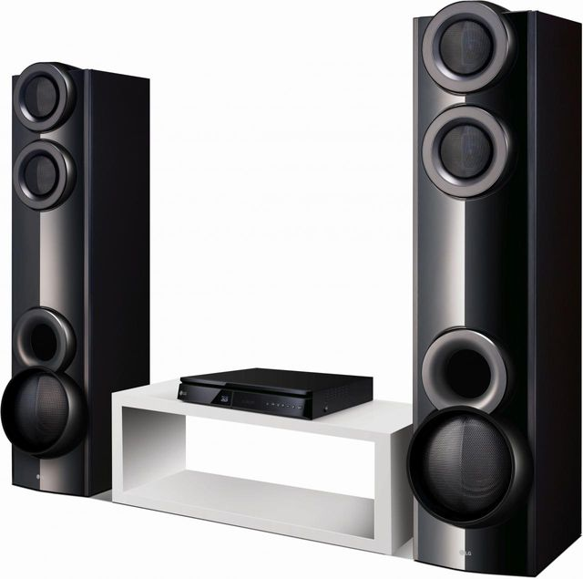 LG 4.2 Channel Blu-ray Disc™ Home Theater System-LHB675N