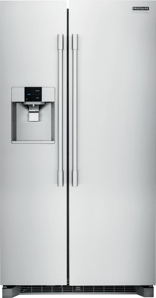 Frigidaire Professional® 22.6 Cu. Ft. Stainless Steel Counter Depth Side-By-Side Refrigerator-FPSC2277RF