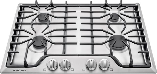 """Frigidaire® 30"""" Stainless Steel Gas Cooktop-FFGC3026SS"""