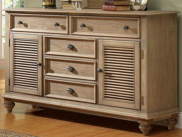 Riverside Furniture Coventry Shutter Door Dresser-32460