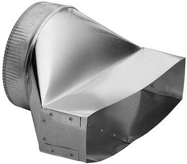 """Broan® 8"""" Round Vertical Discharge Transition-459"""