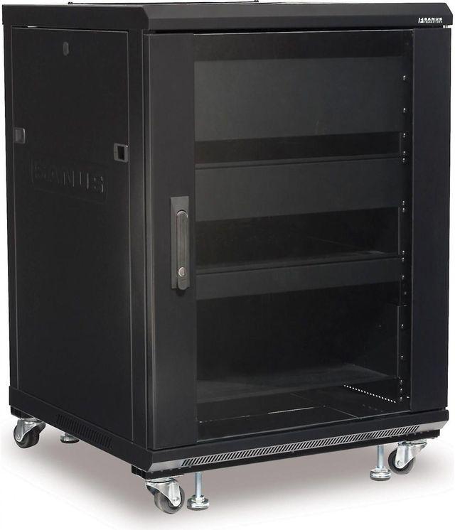 Sanus® Component Series Black 15U Component rack-CFR2115-B1