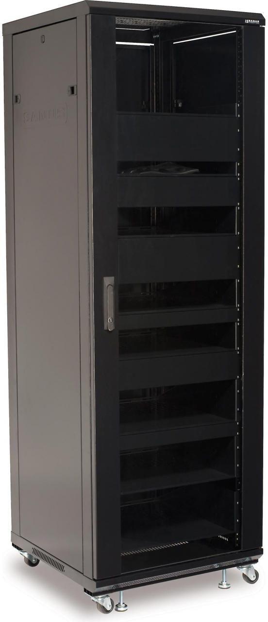 Sanus® Component Series Black 36U Component rack-CFR2136-B1