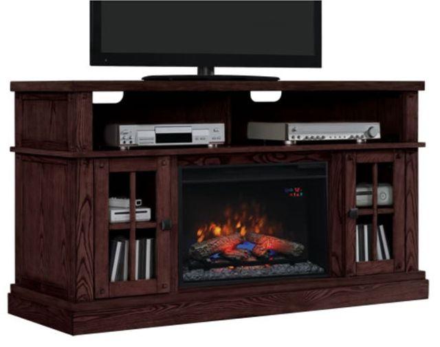 ClassicFlame® New Dakota Media Mantel Fireplace Entertainment Stand-26MM9740-O128