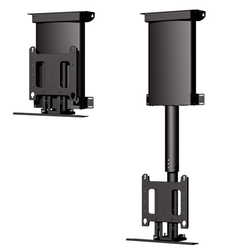 Chief® Black Manufacturing Automated Ceiling for Display Mount-CM2C40U