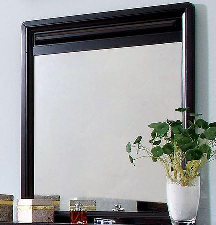 Furniture of America® Winsor Espresso Dresser Mirror-CM7058M