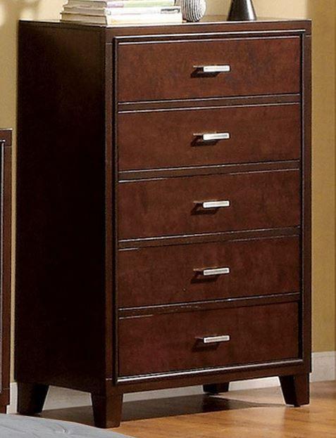 Furniture of America® Enrico I Brown Cherry Chest-CM7068C