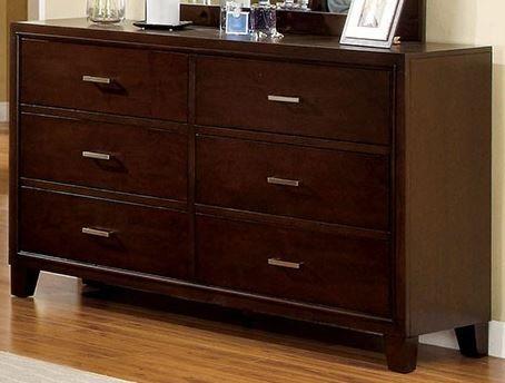 Furniture of America® Enrico I Brown Cherry Dresser-CM7068D