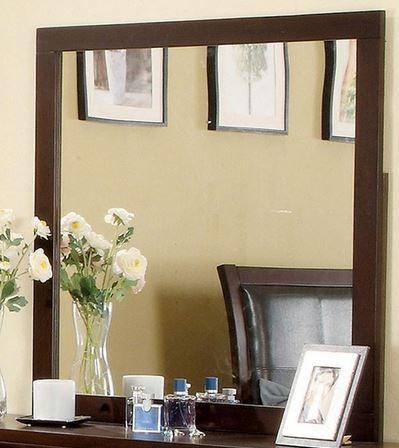 Furniture of America® Enrico I Brown Cherry Dresser Mirror-CM7068M
