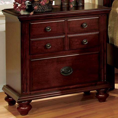 Furniture of America Gabrielle II Nightstand-CM7083N