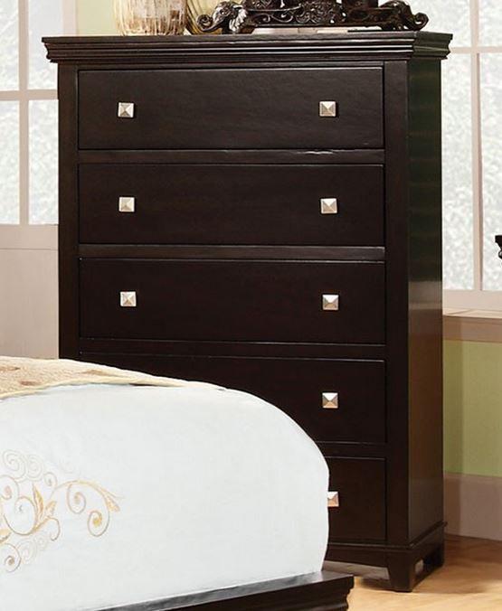 Furniture of America® Spruce Brown Cherry Chest-CM7113EX-C