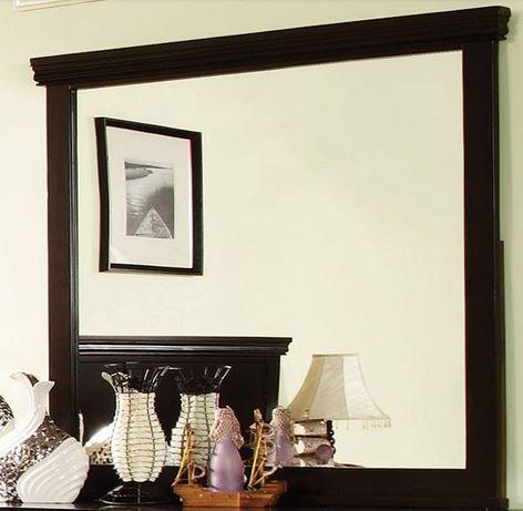 Furniture of America® Spruce Brown Cherry Mirror-CM7113EX-M