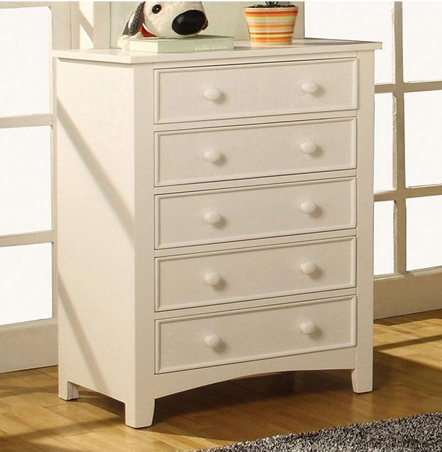 Furniture of America Omnus White Chest-CM7905WH-C