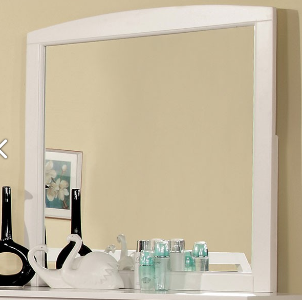 Furniture of America Omnus Mirror-CM7905WH-M