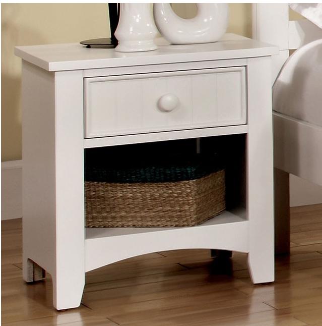 Furniture of America Omnus Nightstand-CM7905WH-N