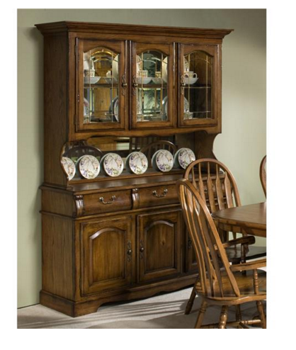 Intercon Classic Oak Collection Dining Room Large China Buffet-CO-CA-3050-BRU-BSE